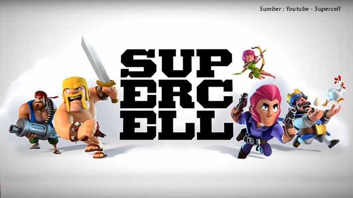 5 Game Supercell Paling Populer