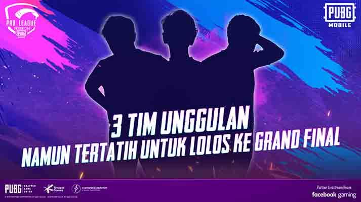 3 tim unggulan pmpl season 2