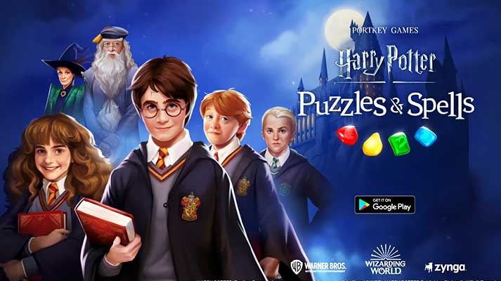 harry potter puzzles and spells